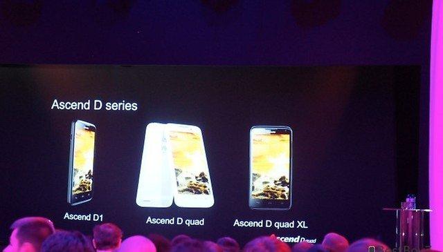 Huawei Ascend D quad: Huawei nos presenta el smartphone más rápido