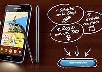 30 Samsung Galaxy Note auf AndroidPIT zu gewinnen - Zeig uns warum Du ein Galaxy Note brauchst