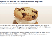 HTC Android 4.0 Update: March Brings Ice Cream Sandwich To HTC Devices