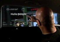 La vitre de voiture du futur : un écran tactile