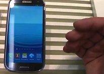 Samsung Galaxy S3: Hands-On Video im Vergleich zum HTC One S
