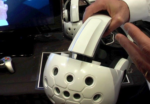 casque 3d sensics
