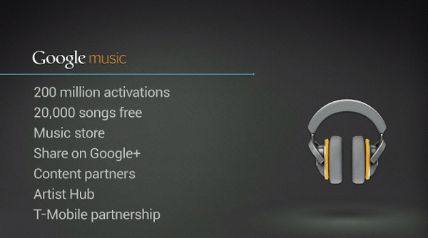Google Music USA only music service to attack iTunes