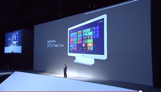 New Windows 8 Devices at Samsung London Event: the ATIV Q is Awesome!