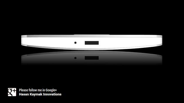Galaxy S5, Design, Mockup