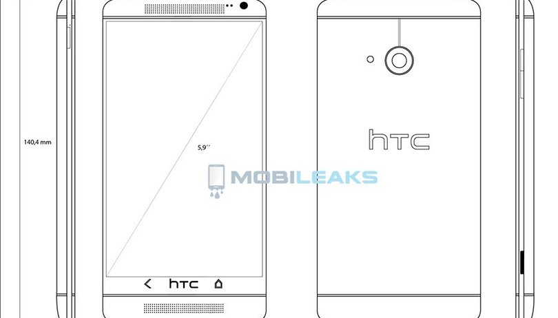 Sketches of HTC T6 revealed