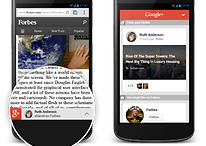 Google+ integrates recommendations for mobile sites