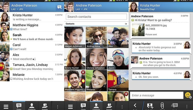 BBM has rolled out on Google Play