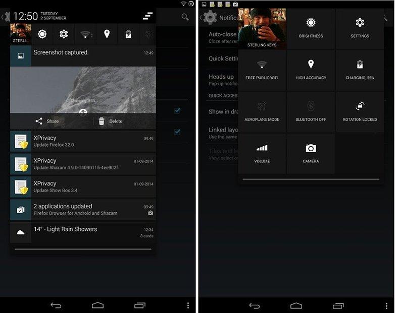 cyanogen mod settings