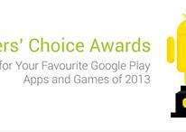 Google announces the Players' Choice award winners