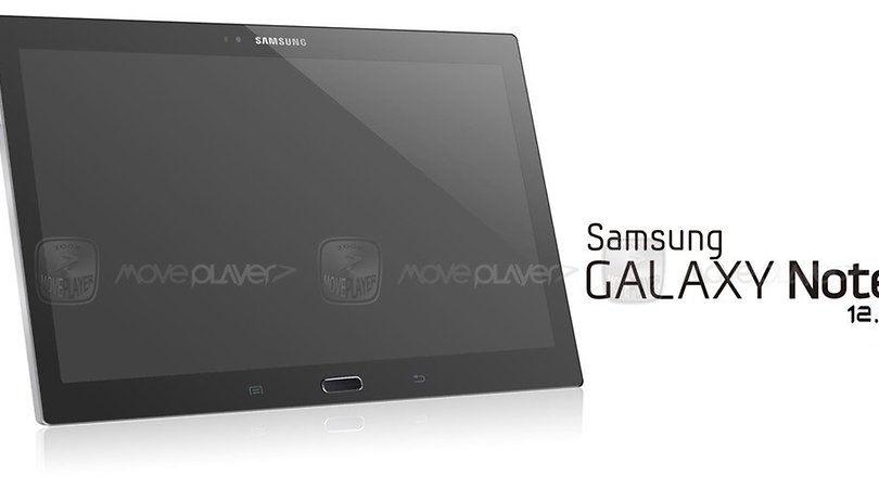 Leaked photo of alleged Galaxy Note 12.2