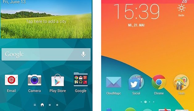 Samsung TouchWiz vs. Stock Android: which is better?