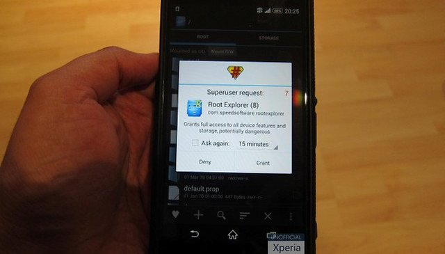 Sony Xperia Z2 has been rooted