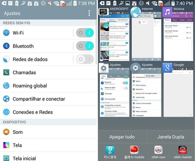 lg g3 multitasking