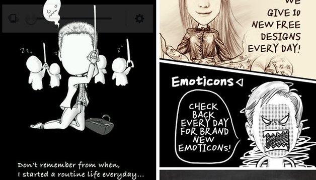 MomentCam - crie sua própria caricatura!