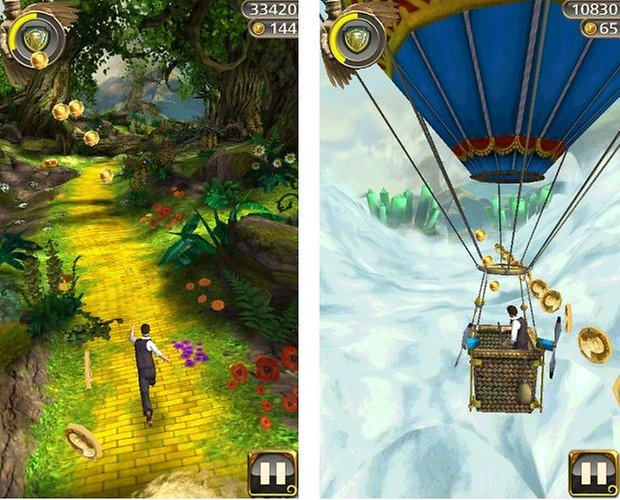 templerun oz screenshots