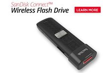 New SanDisk Flash Drive Beams Stuff on to Your Phone/Tablet