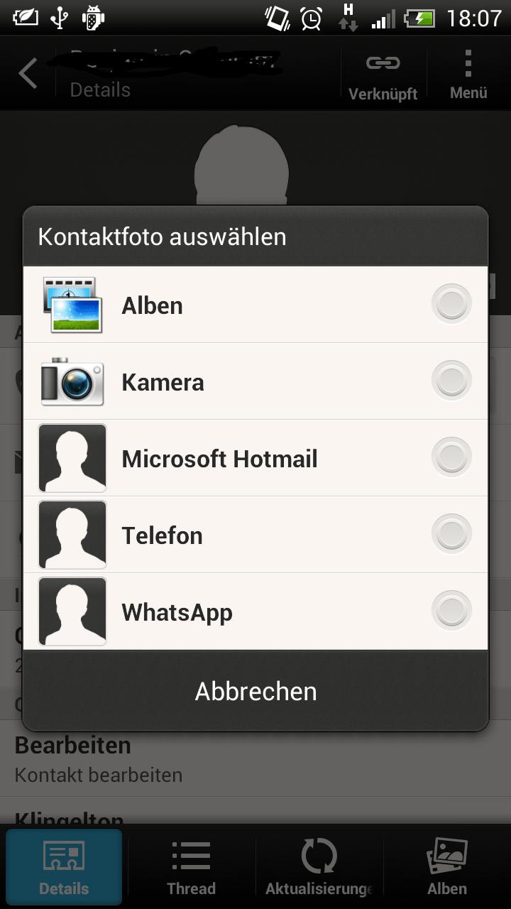 whatsapp kontaktbild