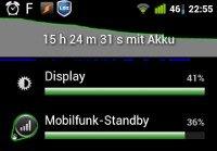 Akku-Statistiken: Mobilfunk-Standby
