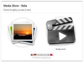 MediaShow Web Start