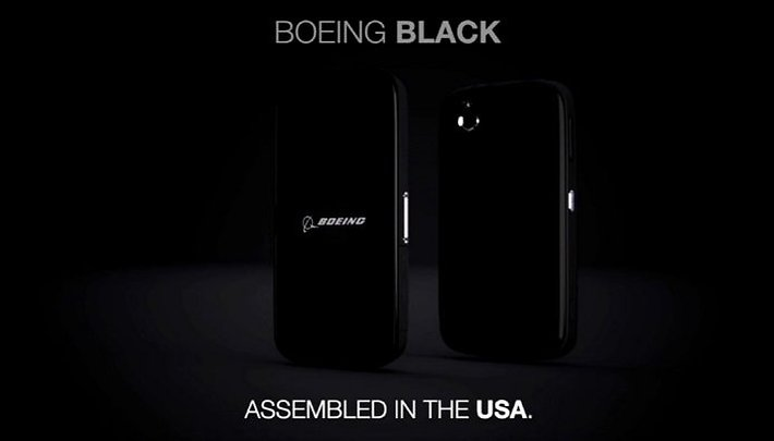Another privacy-orientated smartphone appears: Boeing Black