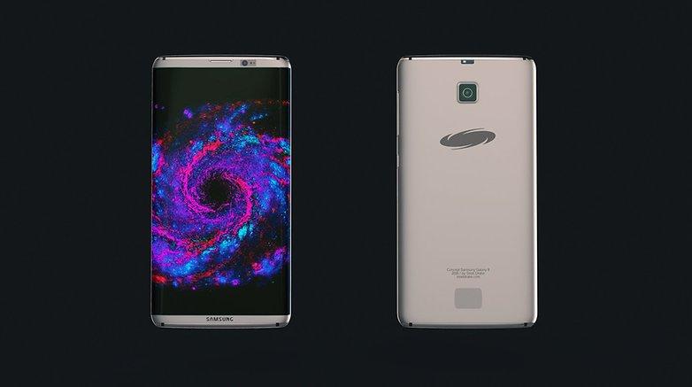 Samsung Galaxy S8 Concept Steel Drake 8