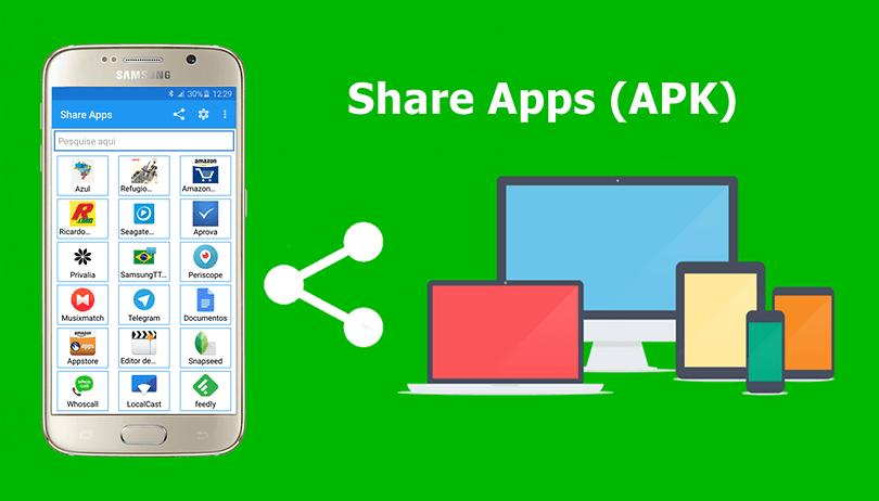 Compartilhe aplicativos entre dispositivos Android mesmo off-line e sem precisar de root