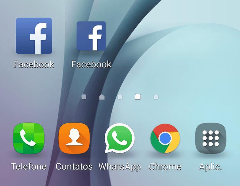 web facebook vs app