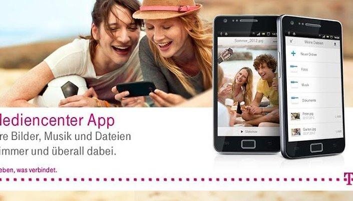 Mediencenter - Telekoms Cloud-App im Test