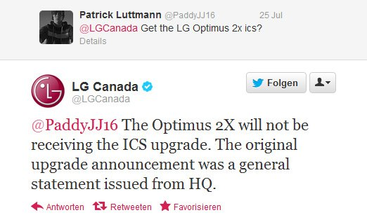 Twitter LG Canada