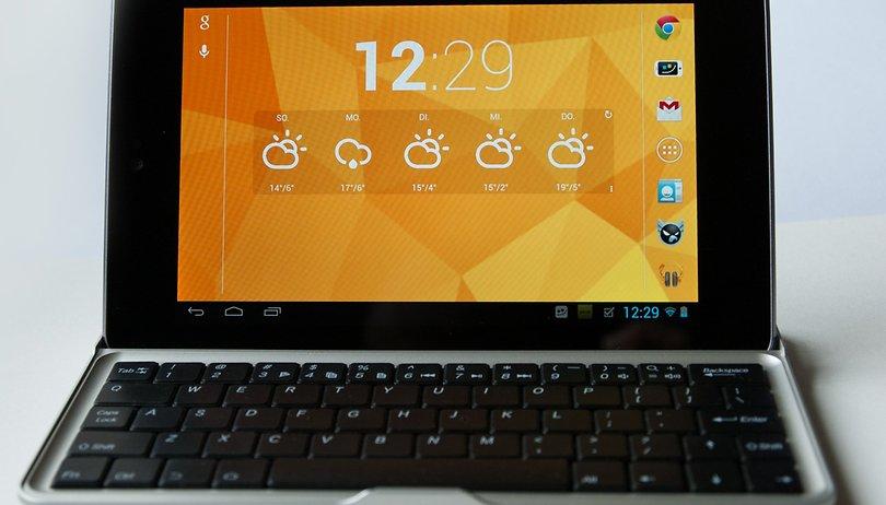Bluetooth-Tastatur für das Nexus 7 im Test