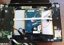 Eee Pad Transformer mit 500GB Festplatte im Dock