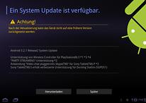 Mini-Update für das Sony Tablet S