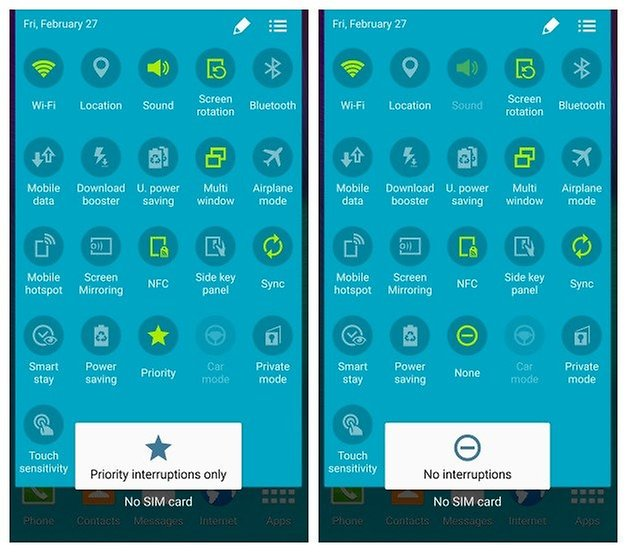 How To Get Silent Mode On Galaxy Note 4 Note 3 And S4 With Lollipop