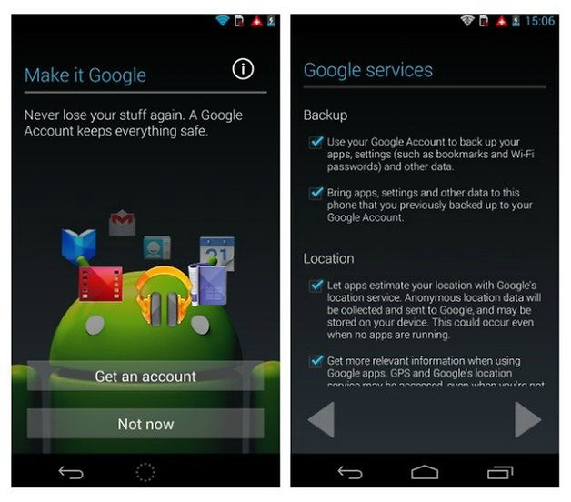 how to delete google account on android device