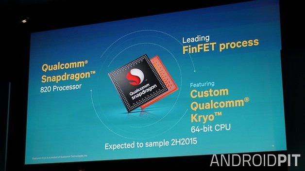 AndrodiPIT Qualcomm Snapdragon 820 processor 64 bit Kryo