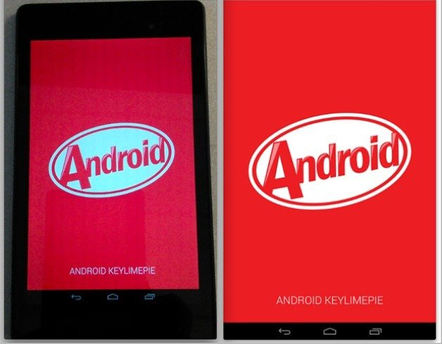 Android KitKat Easter Egg phase 1