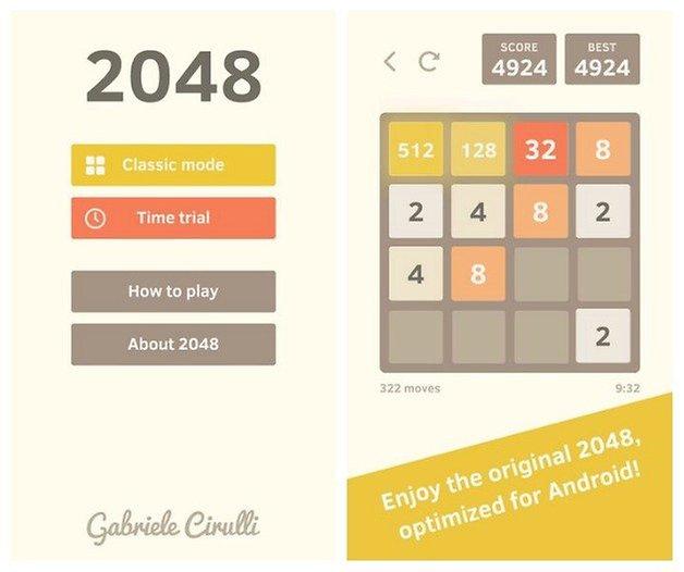 AndroidPIT 2048 Gabriele Cirulli