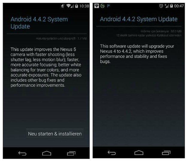AndroidPIT Android 442 Update