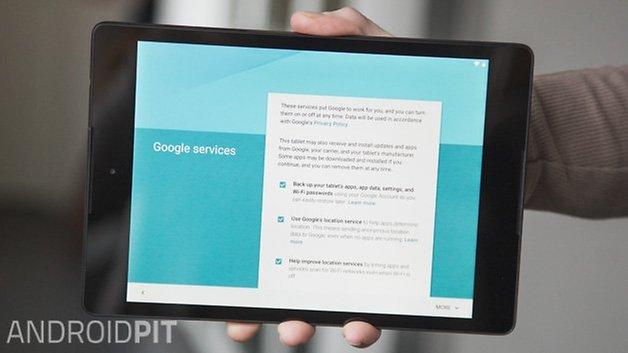 AndroidPIT Android 5 0 Lollipop Nexus 9 Setup 12