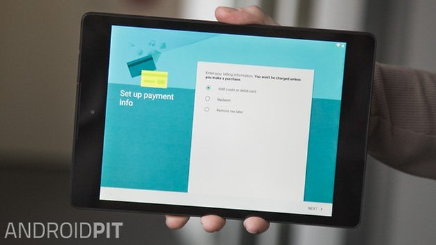 AndroidPIT Android 5 0 Lollipop Nexus 9 Setup 9
