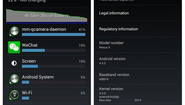 Nexus 4 battery tips to improve battery life