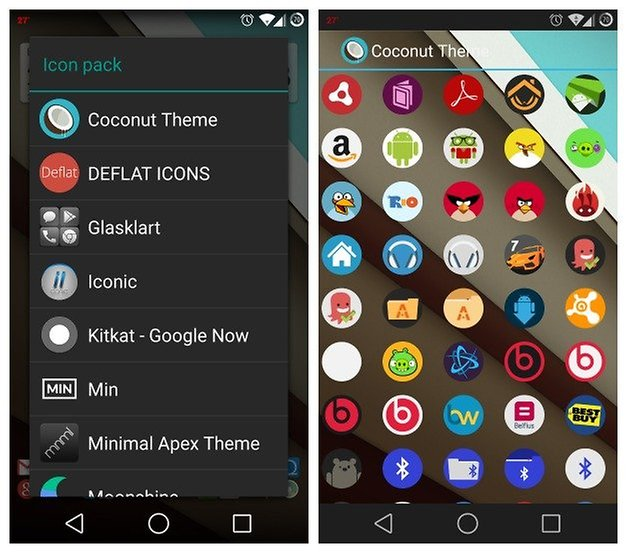 AndroidPIT Apex Launcher Icon Customize 2