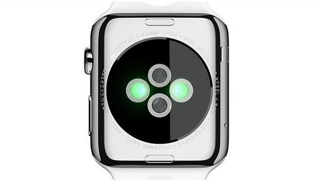 AndroidPIT Apple Watch back