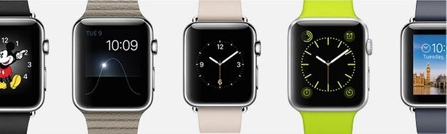 AndroidPIT Apple Watch looks