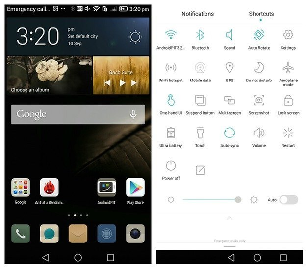 AndroidPIT Ascend Mate 7 interface