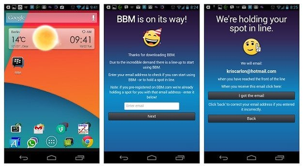 AndroidPIT BBM Download