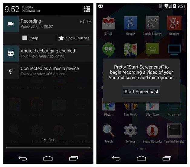 AndroidPIT CyanogenMod Screencast