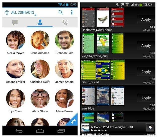 AndroidPIT DialerPlus WhatsAppPlus