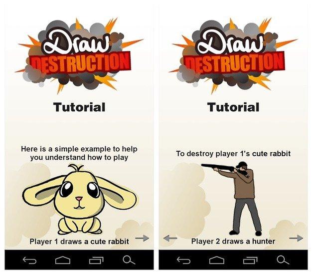 AndroidPIT Draw Destruction 2